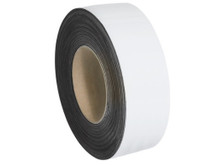 "2"" x 100' White Magnetic Warehouse Label Rolls"