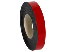 """2"""" x 100' Red Magnetic Warehouse Label Rolls"""
