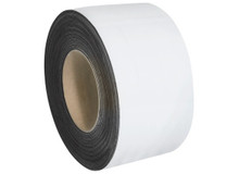 """3"""" x 100' White Magnetic Warehouse Label Rolls"""
