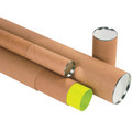 Kraft Premium Telescoping Mailing Storage Tubes
