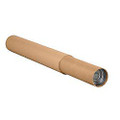 Kraft Adjustable Shipping Tube, Mailing Tube with End Caps