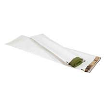 Long Poly Courier Mailers White Flat Self Seal Envelopes