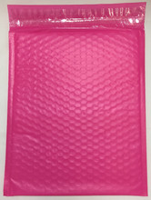 "Economy Pink Poly Bubble Mailers with Self Seal Closure 6"" x 9"" (200 Qty) #0 FREE SHIPPING"