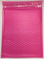 "10.5"" x 15"" (100 Qty) #5  Pink Poly Bubble Mailers with Peel and Seal Self Seal Closure"