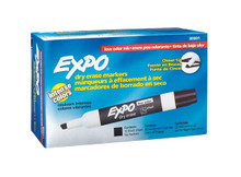 Black Expo® Dry Erase Board Markers with Chisel Tip