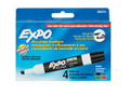 Red, Green, Blue, & Black Expo® Dry Erase Board Markers with Chisel Tip