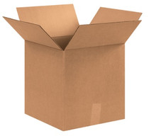 "12"" x 12"" x 13"" (200#/ECT-32) Kraft Corrugated Cardboard Shipping Boxes"