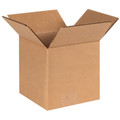 "6"" x 6"" x 6"" Heavy Duty Brown Corrugated Cardboard Shipping Box Build-A-Bundle™"
