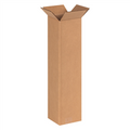 "6"" x 6"" x 24"" Brown Corrugated Cardboard Shipping Box Build-A-Bundle™"