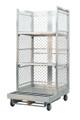Forklift Order Picking Cart for Warehouse Fulfillment - 2 Shelves