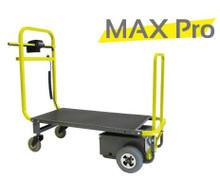 Max Pro Powered Platform Industrial Material Handling Cart