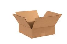 "12"" x 12"" x 4"" Brown Corrugated Cardboard Shipping Box Build-A-Bundle™"