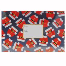 "Decorative Gift Shipping Holiday Mailing Boxes ""Santa's Belt"""
