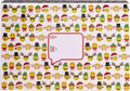 "Decorative Gift Shipping Holiday Mailing Boxes ""Emoji Christmas"""