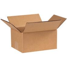 "6"" x 4"" x 2"" Brown Corrugated Cardboard Shipping Box Build-A-Bundle™"
