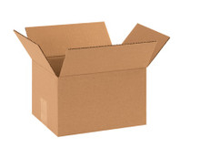 "10"" x 8"" x 6"" Brown Corrugated Cardboard Shipping Box Build-A-Bundle™"