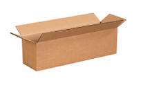 "14"" x 4"" x 4"" Brown Corrugated Cardboard Shipping Box Build-A-Bundle™"