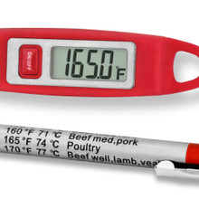 Comfort grip handle ensure this premium thermometer is ready for prolonged use.