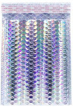 "Holographic Metallic Bubble Envelope Mailer 9.5"" x 13.5"""