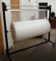 Sturdy Unit for Dispensing and Cutting Packaging Materials such as, Bubble Wrap® or Foam Rolls.