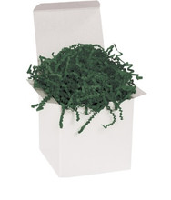 Crinkle Cut Forest Green Void Fill Paper Shred