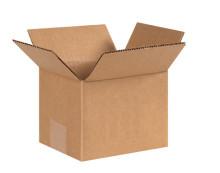 "7"" x 6"" x 5"" (200#/ECT-32) Kraft Corrugated Cardboard Shipping Boxes"