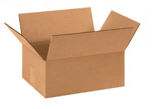 "11"" x 8"" x 3"" (200#/ECT-32) Kraft Corrugated Cardboard Shipping Boxes"