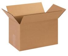 "13"" x 8"" x 6"" (200#/ECT-32) Kraft Corrugated Cardboard Shipping Boxes"