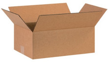 "16"" x 10"" x 5"" (200#/ECT-32) Kraft Corrugated Cardboard Shipping Boxes"