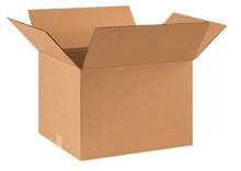 "17 1/2"" x 14 3/4"" x 12 1/2"" (200#/ECT-32) Kraft Corrugated Cardboard Shipping Boxes"