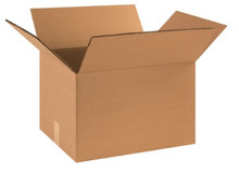 "18"" x 16"" x 14"" (275#DW/ECT-48) Heavy-Duty Double Wall Kraft Corrugated Cardboard Shipping Boxes"
