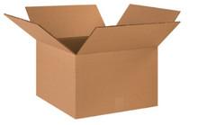 "18"" x 16"" x 16"" (275#DW/ECT-48) Heavy-Duty Double Wall Kraft Corrugated Cardboard Shipping Boxes"