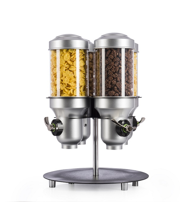 ACD40C-BL-FF | Free Flow | Spinning | Cereal | Dry Food | IDM | Dispenser