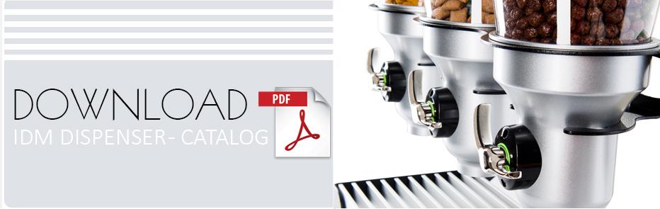 IDM Dispensers Banner Best Catalog - Retail Bulk Merchandising