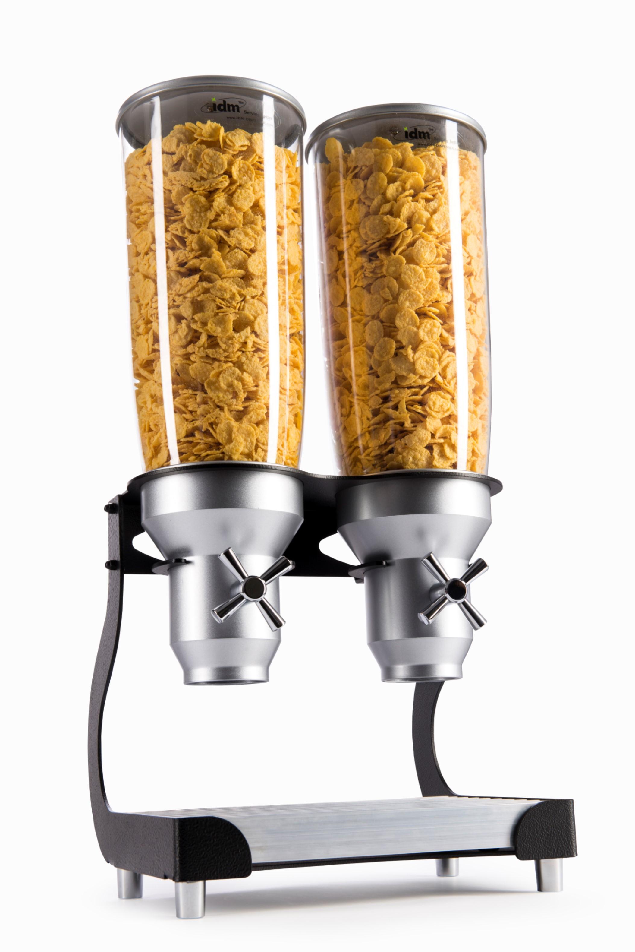 D20   Black   Cereal   Dry Food   Dispenser   IDM   Free Standing
