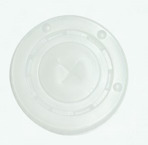 Plastic Flat lids | suits 8 & 10 oz cups | clear PET