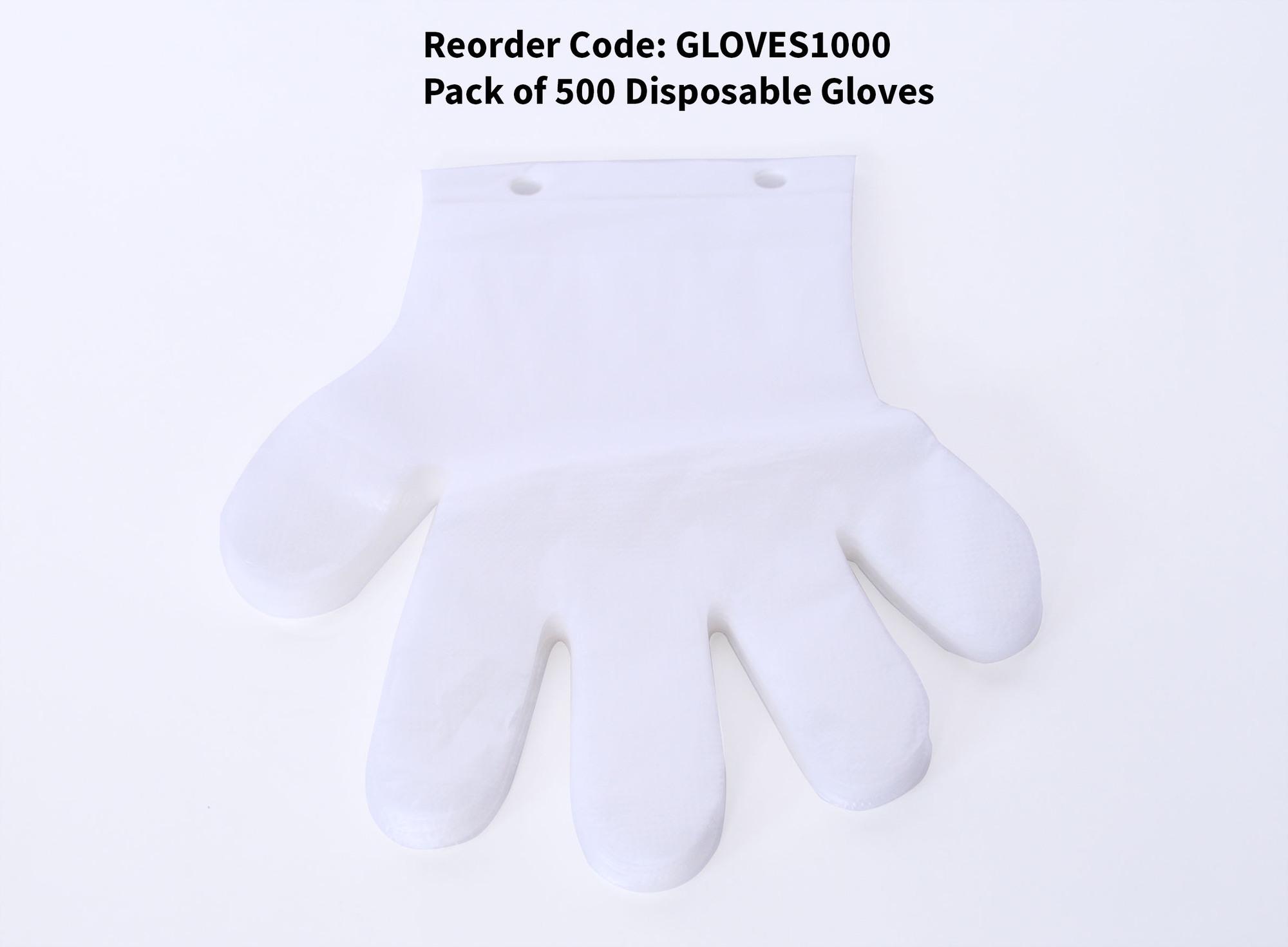 QEC - Glove Dispenser Refill - 1000 Gloves