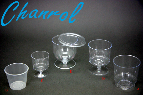 Chanrol Entertainer range | Plastic | Clear | multi styles | Cost efficient | Disposable