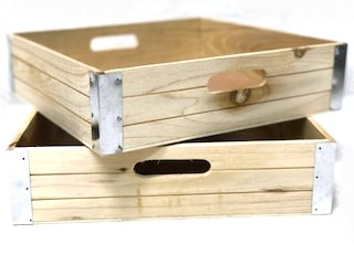 Wooden Crate | Rectangle | Dry Food | Vegetables | Dog Treats | Displays crates | packing Crate