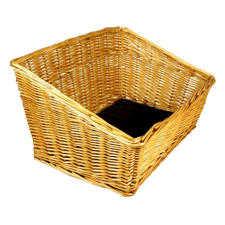 Wicker Rectangle Basket | Foodgrade | Health food stores | Pet store |