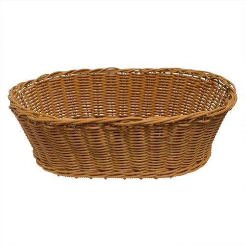 Wicker Basket Oval | FoodGrade | Display Basket Health food |