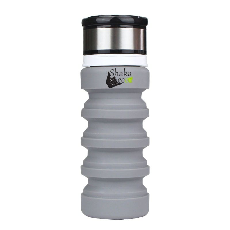 Shaka Eco Drink Bottle Grey