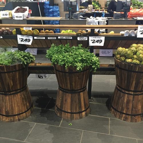 Wooden Dry Food Barrels