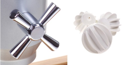 Pro Serv Dispenser wing and tap mechanism available in 6 or 12 helps the flow of the food