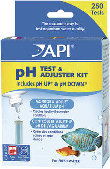 API Deluxe pH Test & Adjuster Kit