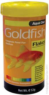 Aqua One Goldfish Flakes 52g (11552)