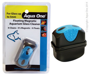 Aqua One Floating Magnet Glass Cleaner (Sml) (10100)