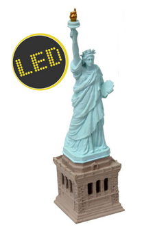 Aqua One Air Operated Statue of Liberty LED Ornament (37075)