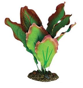 Aqua One Red & Green Amazon Silk Plant - Sm (24101)