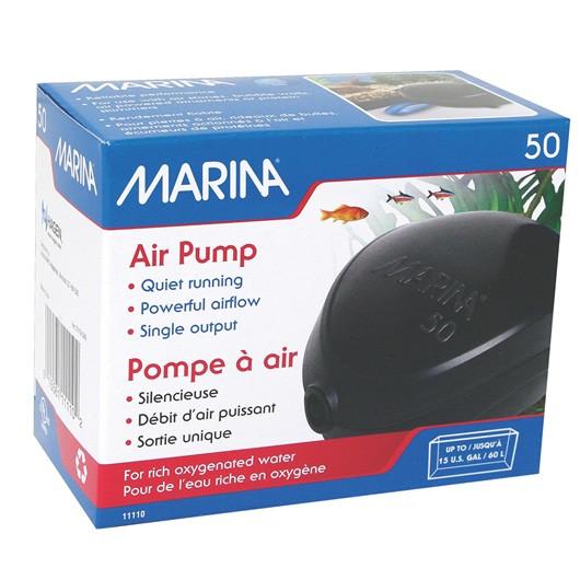 Marina Air Pump 200l Twin Pet Supplies
